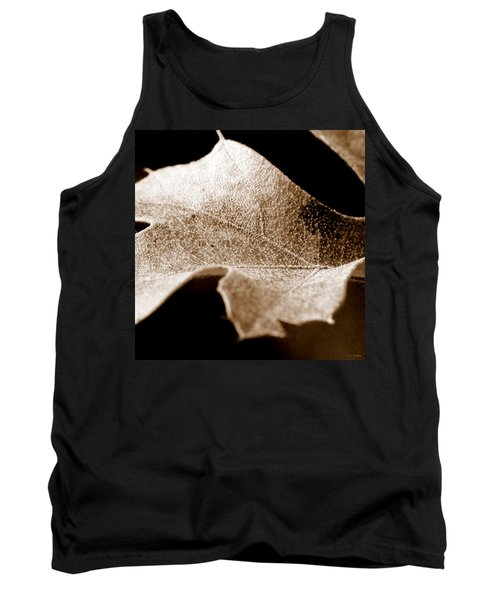 Tank Top featuring the photograph Leaf Collage 1 by Lauren Radke