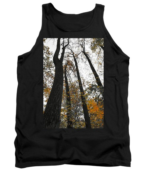 Tank Top featuring the photograph Leaves Lost by Photographic Arts And Design Studio