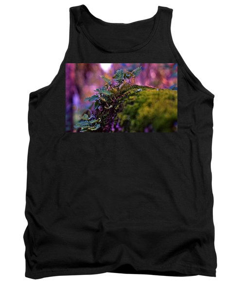Leaves On A Log Tank Top