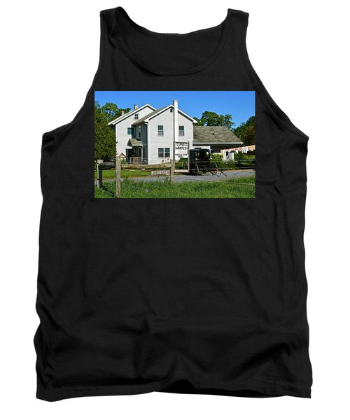 Leaves Wanted Grass Fed Beef Horseshoeing Tank Top