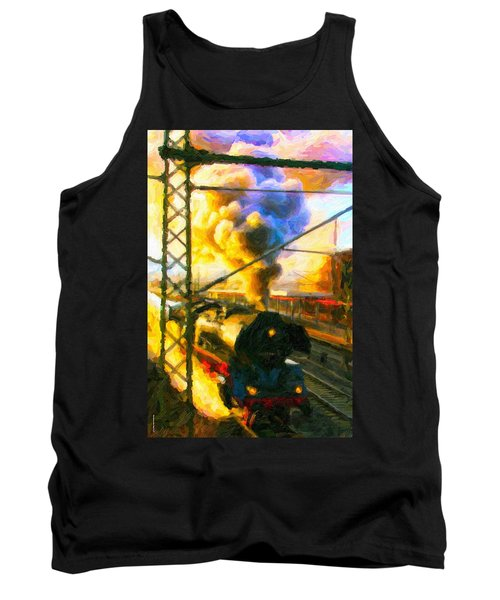 Leaving The Station Tank Top