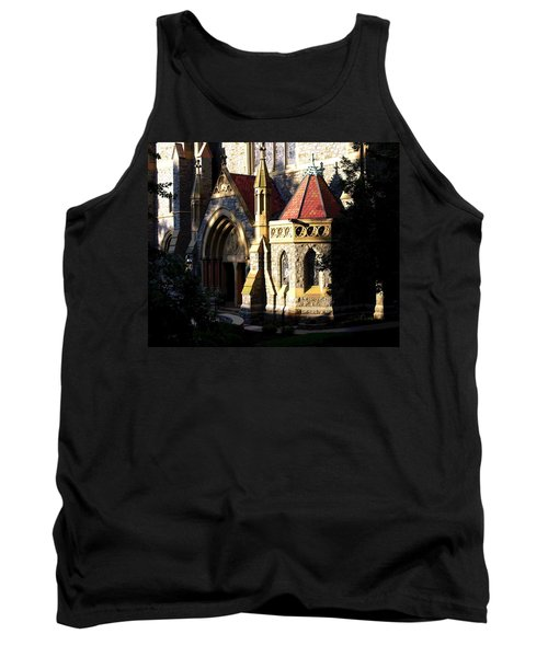 Lehigh University Packer Memorial Chapel Baptistry Tank Top by Jacqueline M Lewis