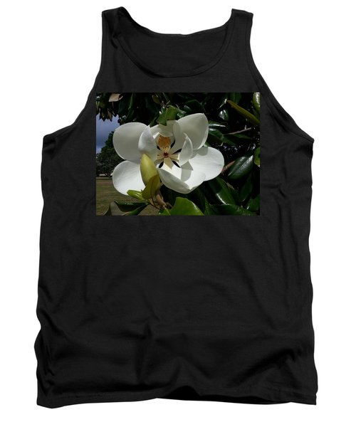 Lemon Magnolia Tank Top