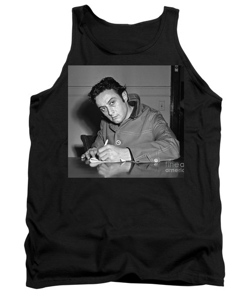 Tank Top featuring the photograph Lenny Bruce 1963 by Martin Konopacki Restoration