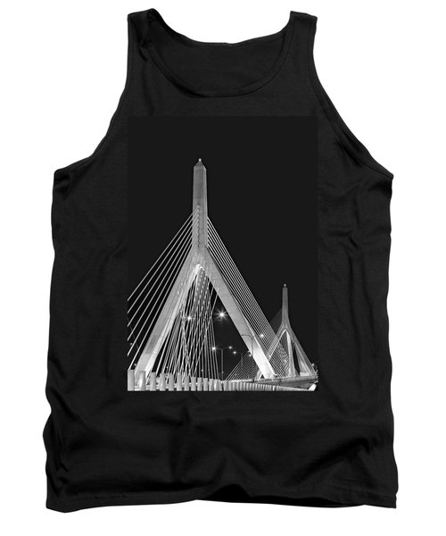 Leonard P. Zakim Bunker Hill Memorial Bridge Bw II Tank Top