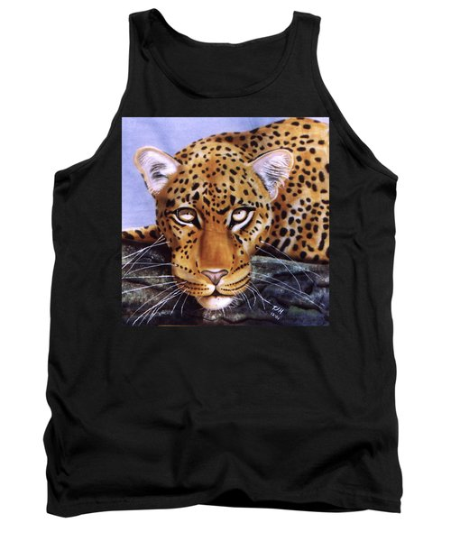 Leopard In A Tree Tank Top