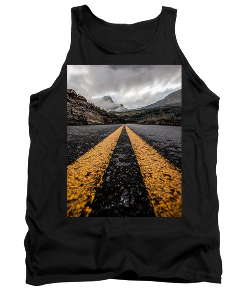 Less Traveled Tank Top by Aaron Aldrich