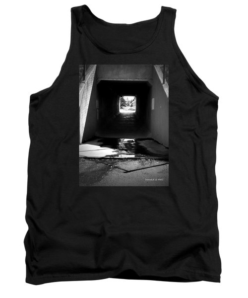 Lethbridge Underpass Tank Top by Donald S Hall