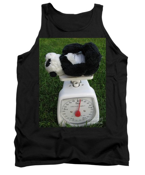 Tank Top featuring the photograph Let's Check My Weight Now by Ausra Huntington nee Paulauskaite