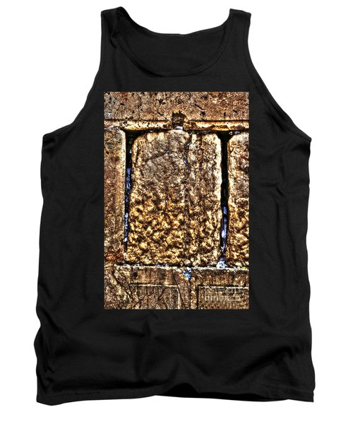 Tank Top featuring the photograph Letters In The Wailing Wall by Doc Braham