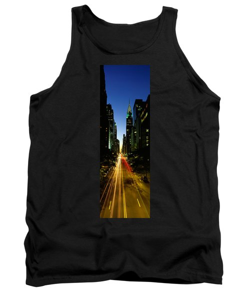 Lexington Avenue, Cityscape, Nyc, New Tank Top by Panoramic Images