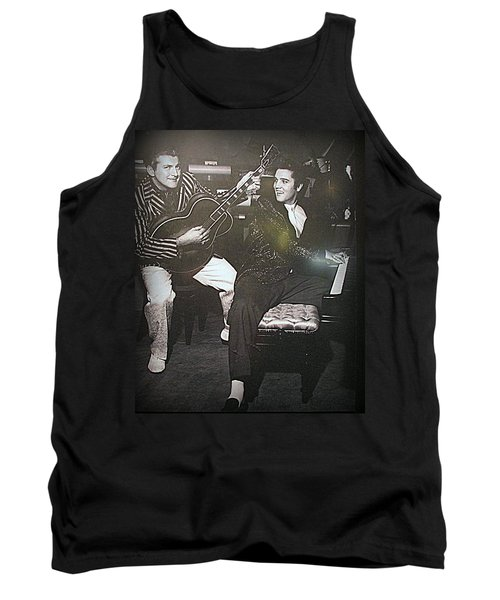 Liberace And Elvis Tank Top