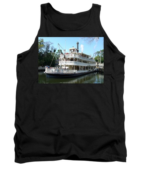 Tank Top featuring the photograph Liberty Riverboat by David Nicholls