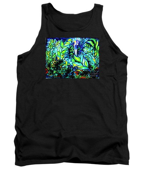 Tank Top featuring the painting Life Without Filters by Hazel Holland