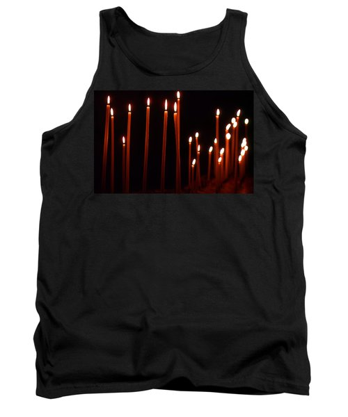 Light A Candle Say A Prayer Tank Top