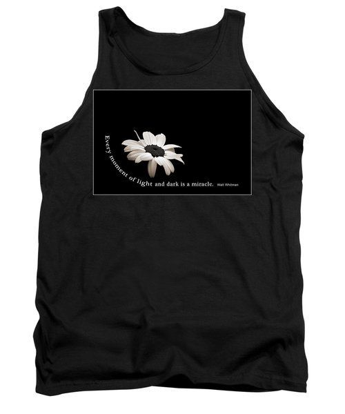 Light And Dark Inspirational Tank Top by Bill Pevlor