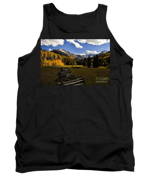 Light In The Valley Tank Top by Steven Reed