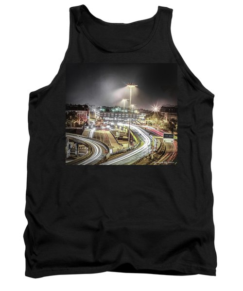 Tank Top featuring the photograph Light Moves by Stwayne Keubrick