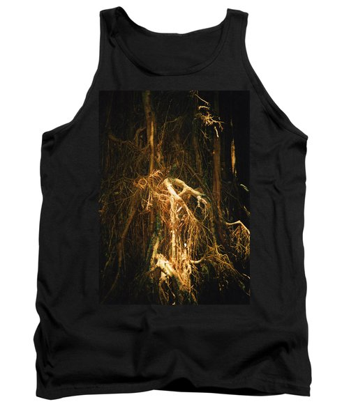 Tank Top featuring the photograph Light Roots by Evelyn Tambour