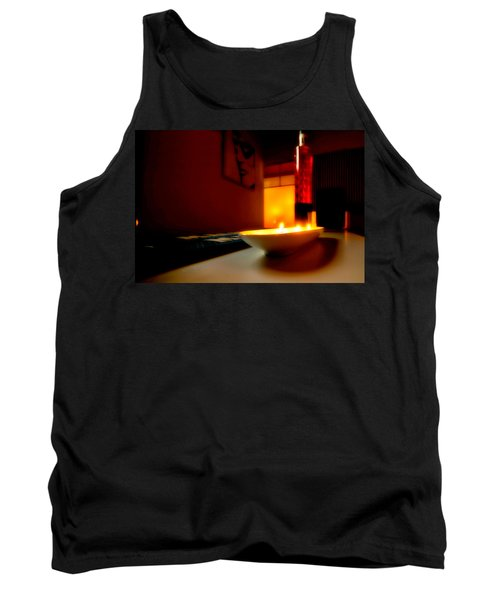 Light The Bottle Tank Top by Melinda Ledsome