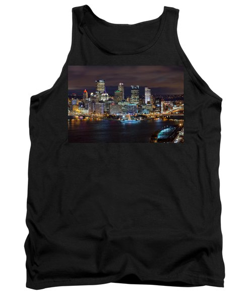 Light Up Night Pittsburgh 3 Tank Top