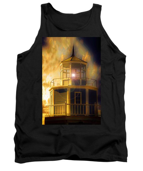 Tank Top featuring the photograph Lighthouse  by Aaron Berg