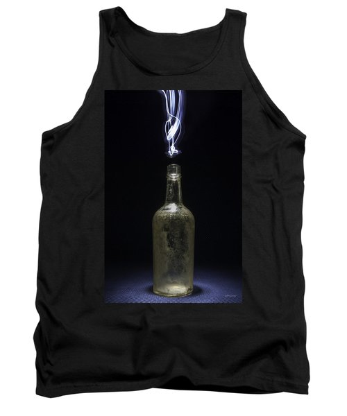 Tank Top featuring the photograph Lighting By The Quart - Light Painting by Steven Milner