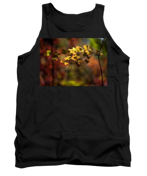 Tank Top featuring the photograph Lightly Falling by Aaron Aldrich