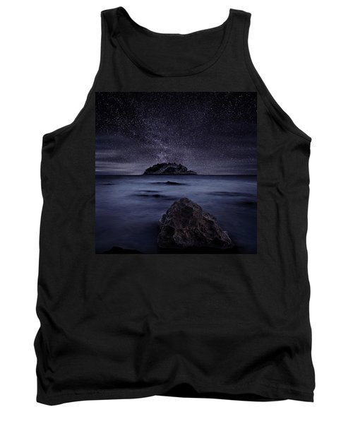 Lights Of The Past Tank Top by Jorge Maia