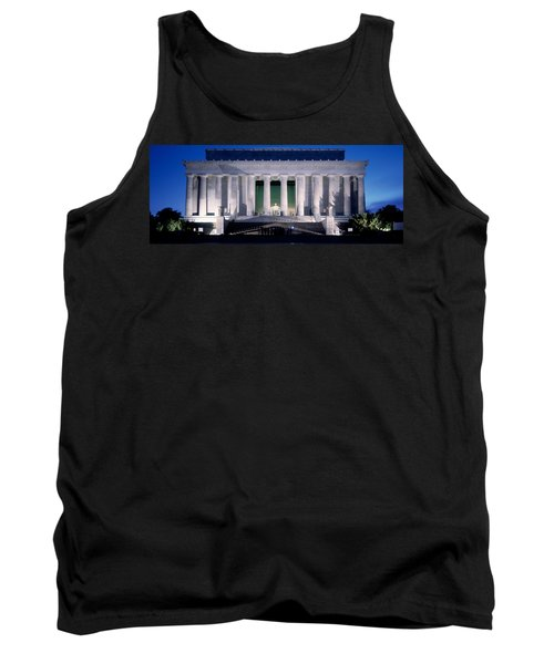 Lincoln Memorial At Dusk, Washington Tank Top