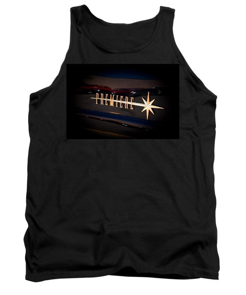 Tank Top featuring the photograph Lincoln Premiere Emblem by Joann Copeland-Paul
