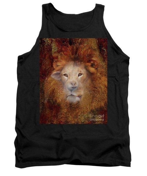 Lion Lamb Face Tank Top