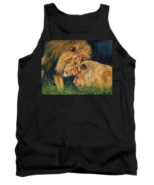 Lion  Love Tank Top