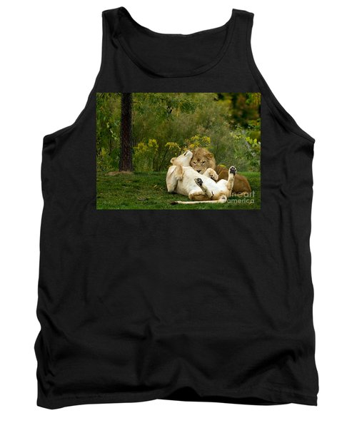Lions In Love Tank Top