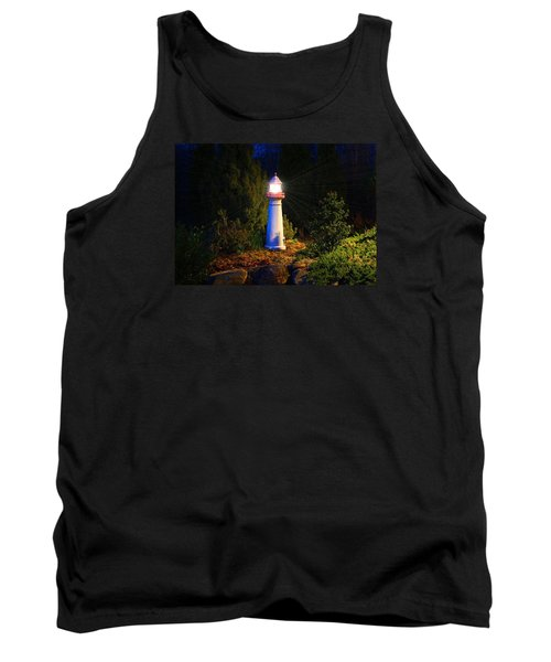 Lit-up Lighthouse Tank Top by Kathryn Meyer
