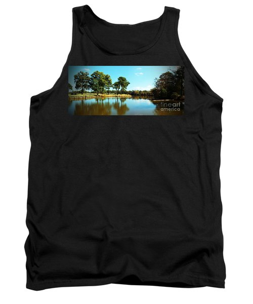 Tank Top featuring the photograph Little Creek by Angela DeFrias
