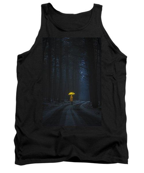 Little Yellow Riding Hood Tank Top