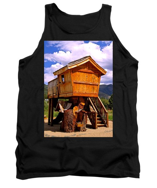 Log Cabin Penthouse Tank Top