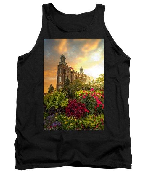 Logan Temple Garden Tank Top by Dustin  LeFevre