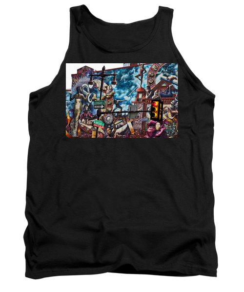 Lombard And Broad Tank Top
