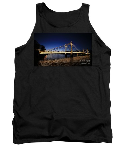 London Albert Bridge  Tank Top by Mariusz Czajkowski
