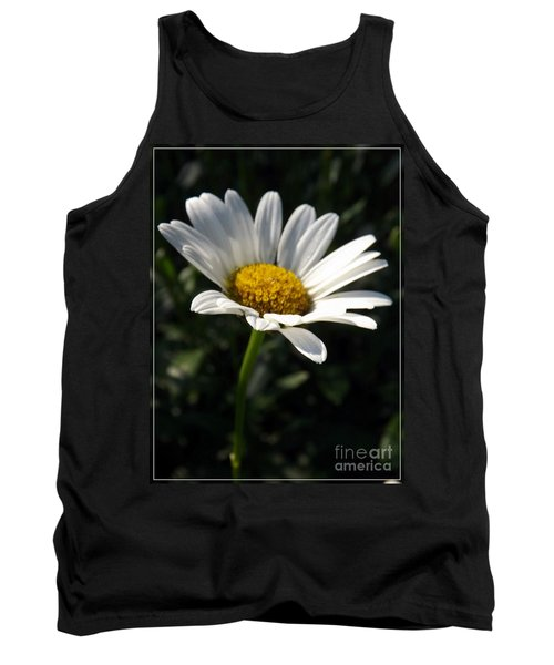 Lone Daisy Tank Top by Sara  Raber