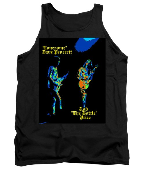 Lonesome Dave And Bottle Rod Tank Top