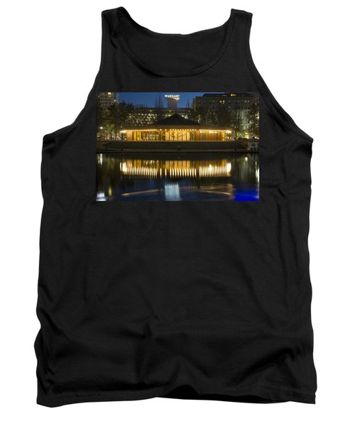 Looff Carrousel Reflection Tank Top