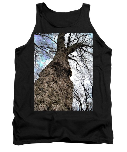 Tank Top featuring the photograph Look Up Look Way Up by Nina Silver