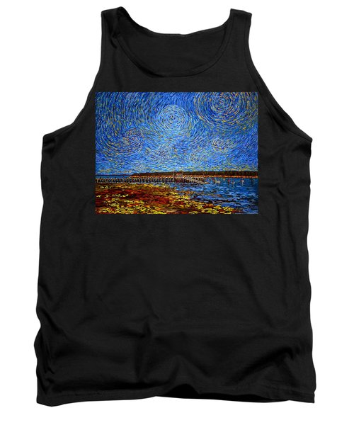 Looking East - St Andrews Wharf 2013 Tank Top