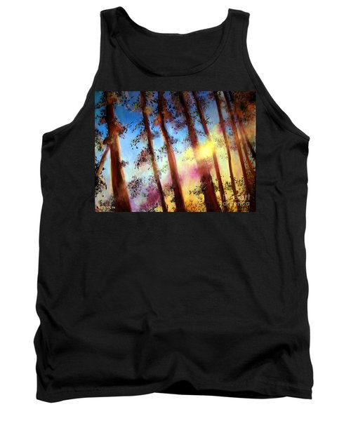 Looking Through The Trees Tank Top