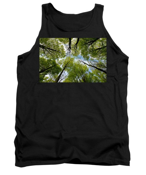 Looking Up Tank Top by Ron Harpham
