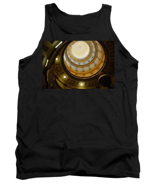 Looking Up The Capitol Dome - Denver Tank Top