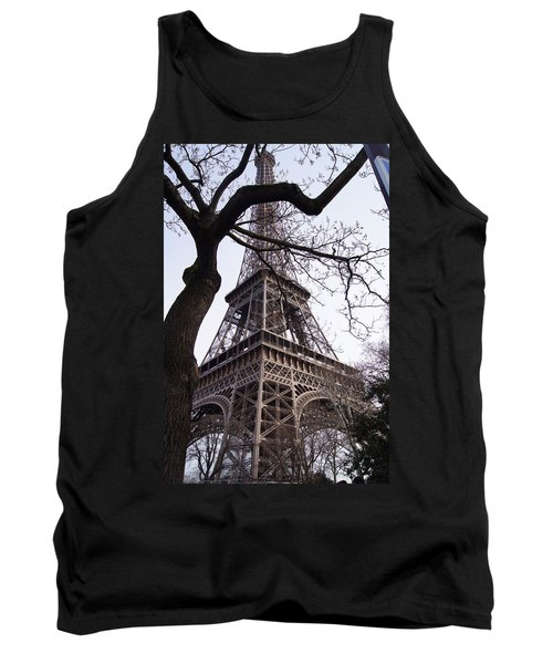 Looking Up To Eiffel  Tank Top